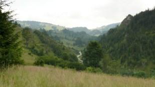 Biała Woda, widok na całą dolinę