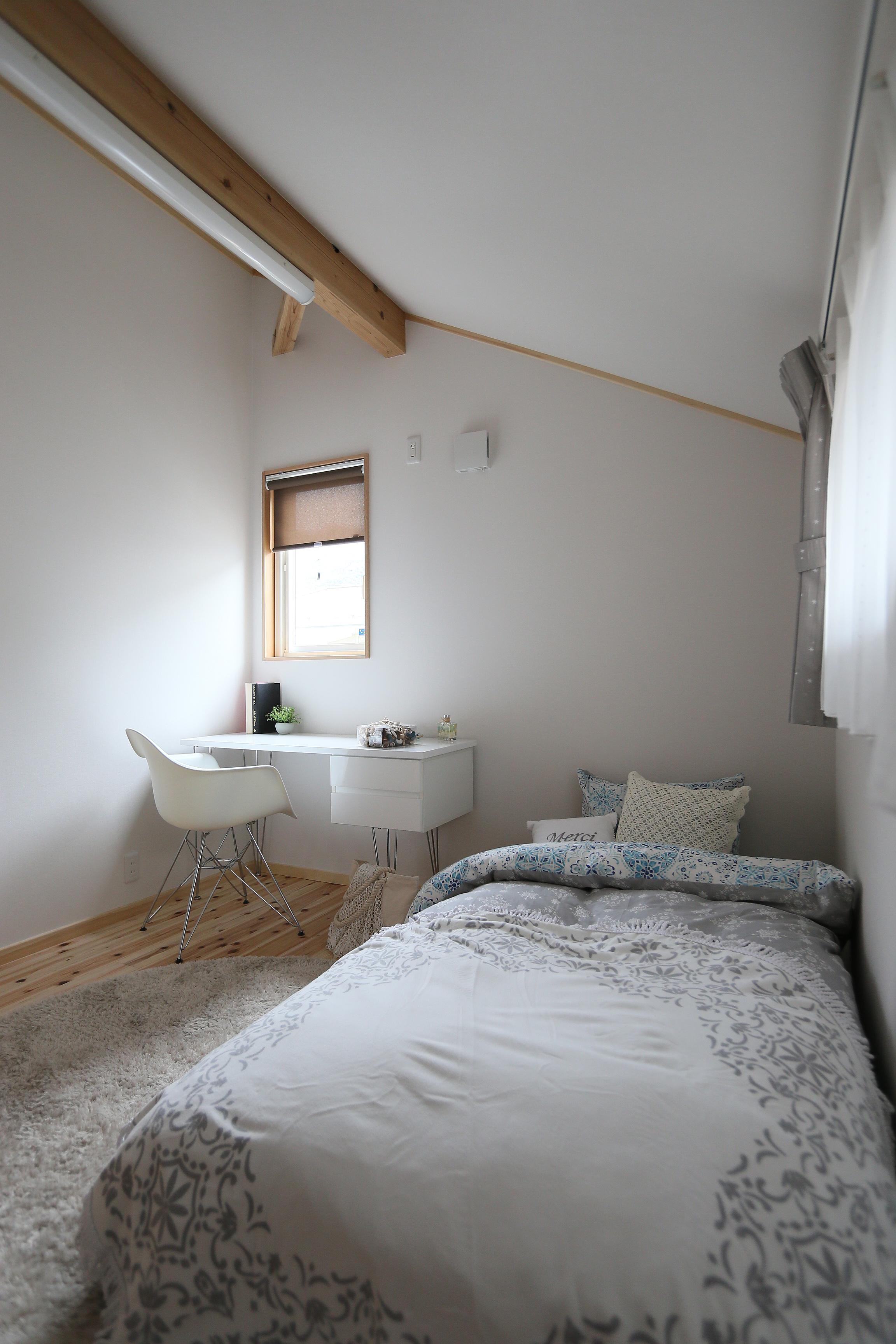 9.小屋裏空間の子供部屋
