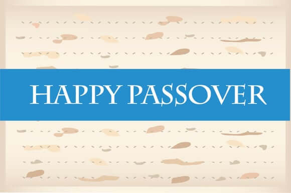 Happy Passover 2019