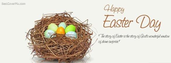 Religious Easter Facebook Cover Photos