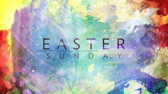 Easter Sunday Background