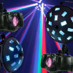stage lighting and effects for audio visual effects