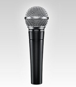 Shure SM58 Wired Microphone Rental