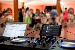 party events need audio, video and lighting