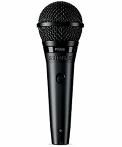 Shure PGE58 Vocal Mic with on and off switch