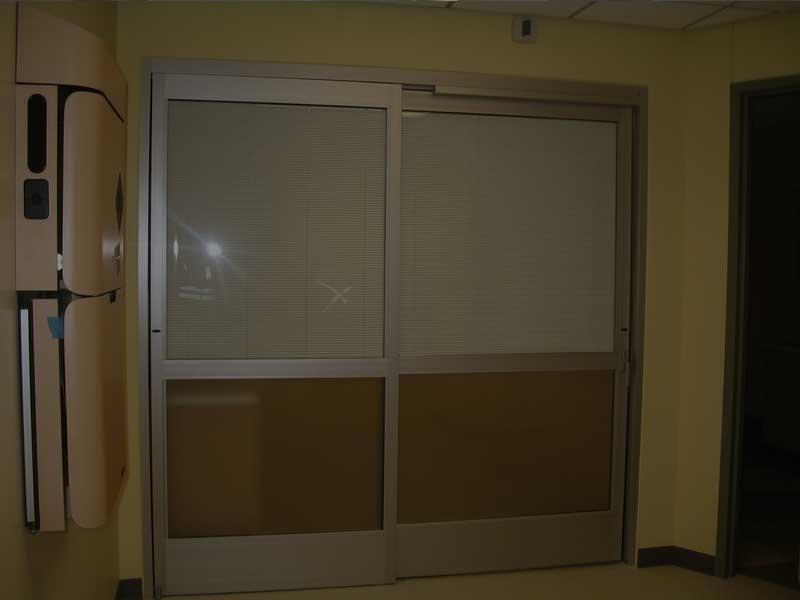 IE; Blinds Between Glass Blind Applications - Aluminum Sliding Door