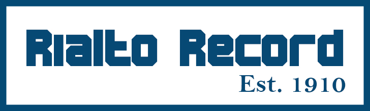 Rialto Record Blue
