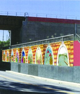 Photo/City of Colton: A rendering of Eliseo Silva's proposed mural on La Cadena Drive.