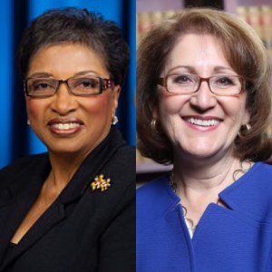 Courtesy Photos: Assemblywoman Cheryl Brown, left, and Eloise Reyes, right.