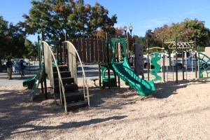 Photo/Anthony Victoria: The new KaBoom! playground at Seccombe Lake Park.