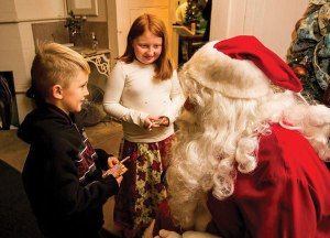 courtesy photo/ Louis G Weiner Photography Photos with Santa will be available at the Kimberly Crest Carriage House during the annual tree lighting ceremony Dec. 4.