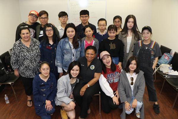Chinese students mayor