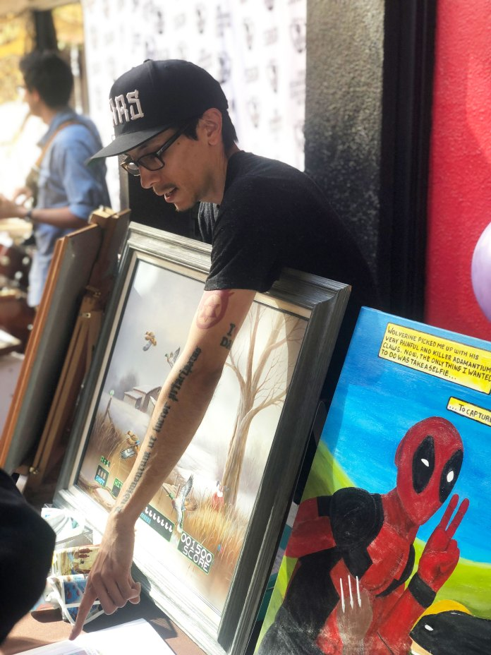 Downtown San Bernardino art walk met with massive success - Inland