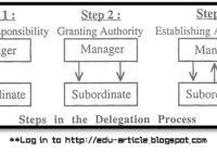 How Authority is Delegated within the Organizational Hierechy