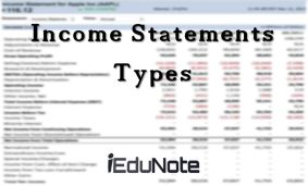 Income Statements | Income Statements Definition Types Examples Explained