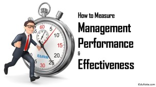 How to Measure Management Performance and Effectiveness