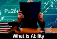What is Ability?