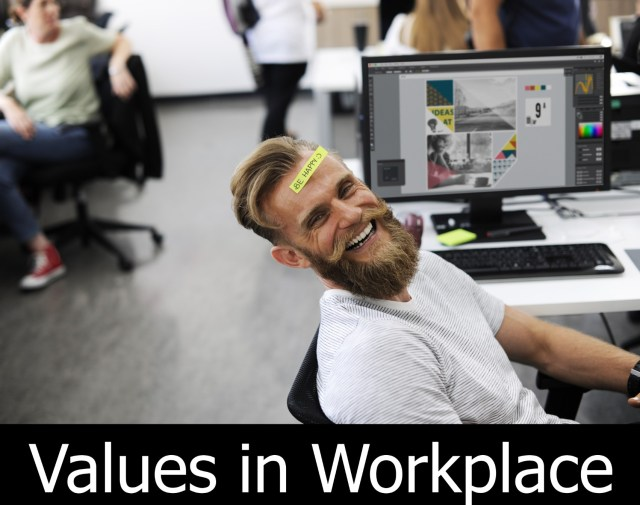 Values in Workplace