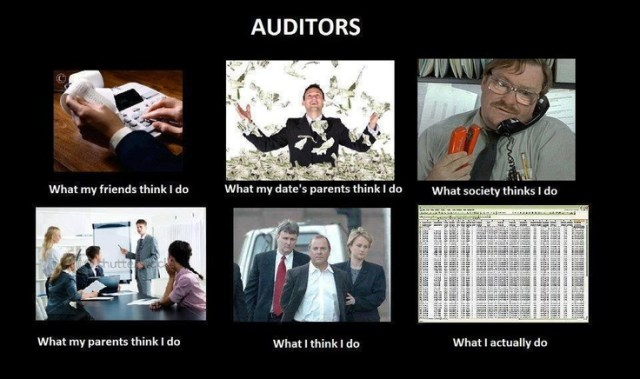 Origin and Evolution of Auditing