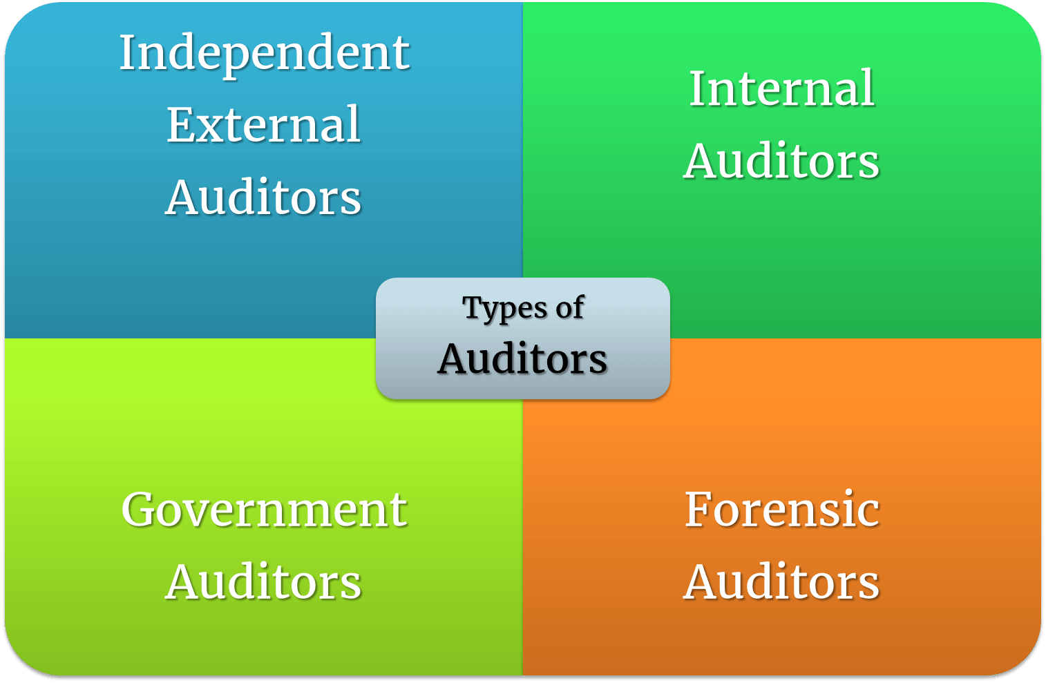 Types of Auditors | 4 Types of Auditors