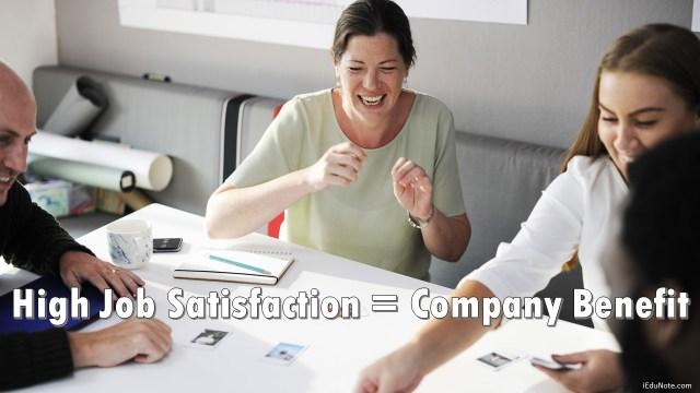 How Job Satisfaction Benefits the Company