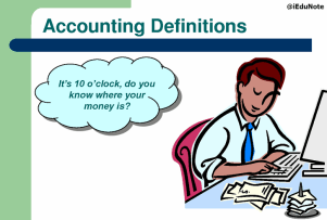 What is accounting definition