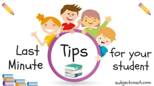 Last Minute Tips for your student's NAPLAN Tests