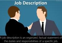 Job Description: Definition, Importance, Job Description Writing Guide