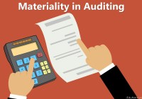 Materiality in Auditing