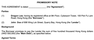 promissory-notes-as-negotiable-instrument