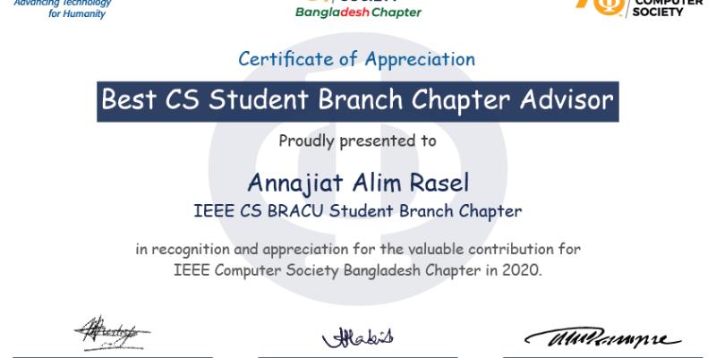 Best CS Student Chapter