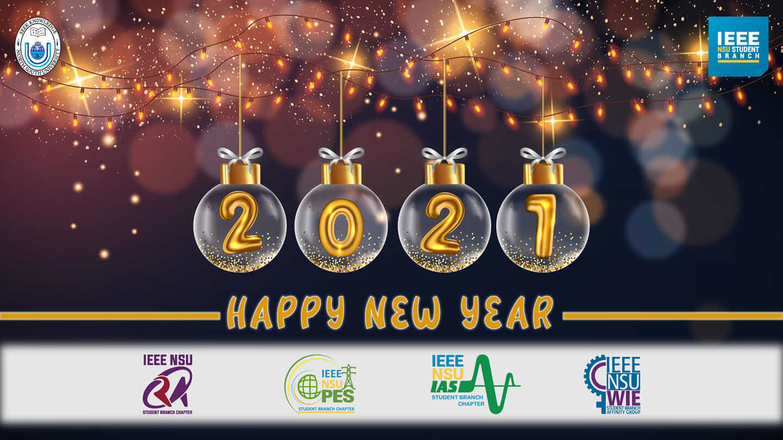 Celebrating Happy New Year 2021!