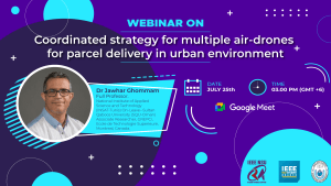 Event poster of this webinar