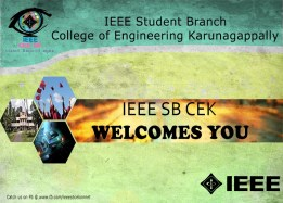 IEEE SB CEK WELCOMES YOU
