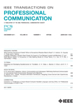 IEEE Transactions on Professional Communication - Table of Contents