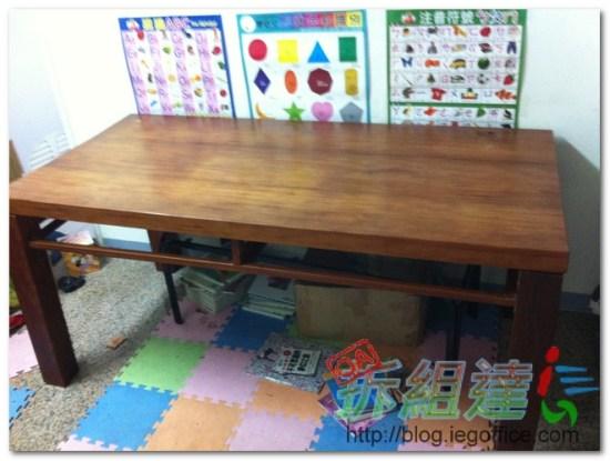 二手辦公家具,主管木桌