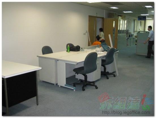 辦公家具-辦公屏風施作