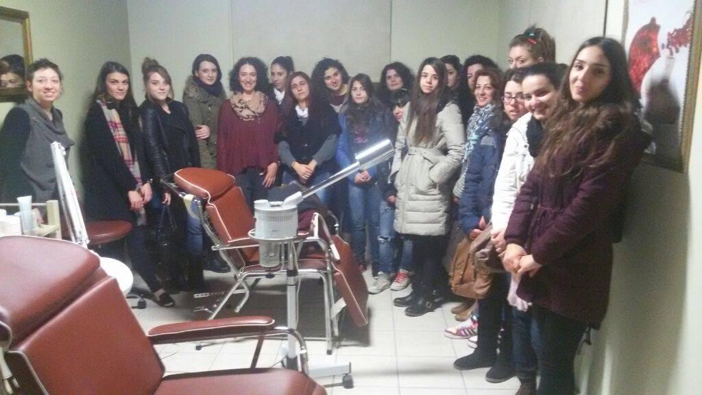 Εκπαιδευτική επίσκεψη του τμήματος «Βοηθός Φαρμακείου» στο Beauty House