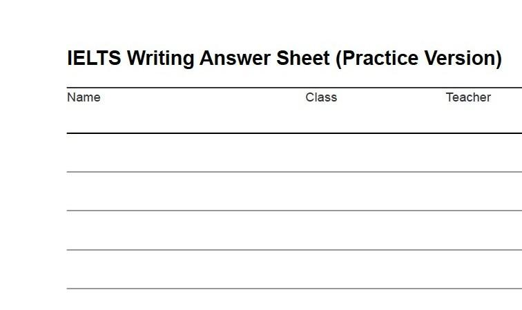 Ielts writing essay pdf