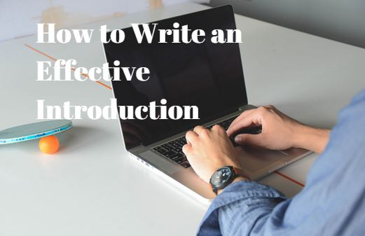 How To Write an Effective Introduction For IELTS Writing Task 2