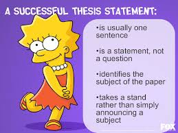 what is a thesis statement ielts