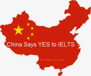 IELTS finds its way into the China