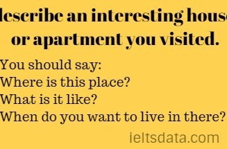 describe an interesting house or apartment you visited.