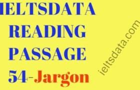IELTSDATA READING PASSAGE 54-Jargon