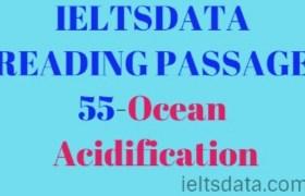 IELTSDATA READING PASSAGE 55-Ocean Acidification