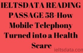 IELTSDATA READING PASSAGE 58-How Mobile Telephony Turned into a Health Scare