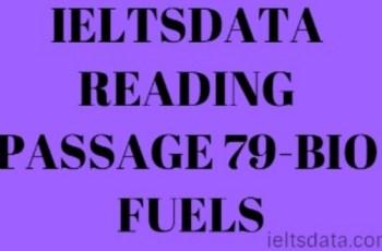 IELTSDATA READING PASSAGE 79-BIO FUELS