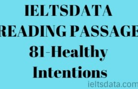 IELTSDATA READING PASSAGE 81-Healthy Intentions