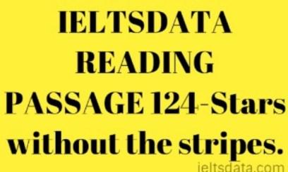 IELTSDATA READING PASSAGE 124-Stars without the stripes.