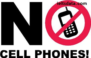 The use of mobile phones should be banned in public spaces such as libraries, transportations, and shops. To what extent do you agree or disagree?